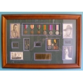 001 WW2 Frame Desert Rat Africa and Pacific