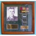 001 WW2 Frame John French VC 9 Battalion