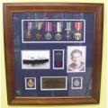 WW2 Medal Frames