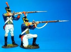 1812M-02 2 U.S. Marines Firing
