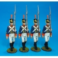 1812M-05N Marines Marching - USMC 1814 boxed set
