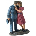 BR25025 Pilot and Girl Kissing