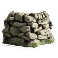 C08d Dry stone corner wall