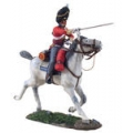 BR36065 British Scots Grey Officer Charging