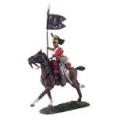 BR36066 British 1st Royal Dragoon Guidon Bearer