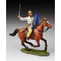 ABC004 Mounted Celt swinging sword