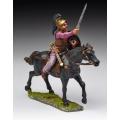 ABC006 Mounted Celt Warrior War Cry