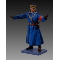 BER004B Directing traffic blue coat