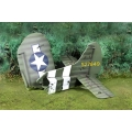 CS000746 101st Waco Diorama Tail Section Normandy