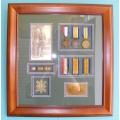008 WW1 Frame Scottish Soldier