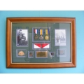 003 WW1 Medal Frame Light Horse