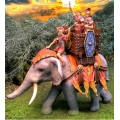 CS000706 Elephant for Claudius w/rider