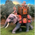 CS000707 Fighting Elephant w/rider