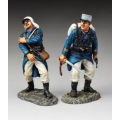 FFL004A Officer with sword (white kepi)
