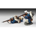 FFL006A Prone and Kneeling Firing (white kepi)