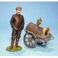 GGC03 German Mechanic and Oil Cart