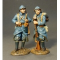 GWF20 Two French Infantry Standing