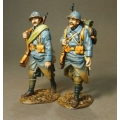 GWF21 Two marching French infantry