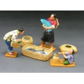 HK164 Fish Seller Set