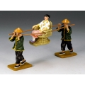 HK173 New Sedan Chair Set