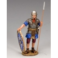 LOJ014 Roman Auxilliary with shield and spear