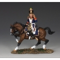 NA273 Mounted French Voltigeur Officer Shouting