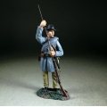 BR31256 Confederate Infantry Standing Ramming in Frock Coat