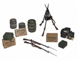 BR31268 Pre Order Civil War Encampment Accessory Set