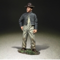 BR31320 Confederate Standing in Camp or Artillery Crewman