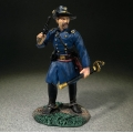 BR31335 Federal Officer Standing with Pistol