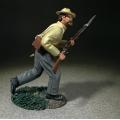 BR31337 Confederate Soldier Advancing