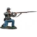 BR31341 Confederate Infantry Kneeling Firing