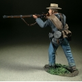 BR31362 Confederate Infantry Advancing Firing, No.1