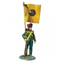BR36182 Pre Order Nassau Grenadier with Regimental Colour, 1815
