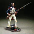 BR36188 French Imperial Guard Standing Defending