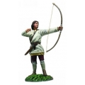 BR62128 Pre Order Saxon Archer #2 Arrow Loosed (Osfirth)