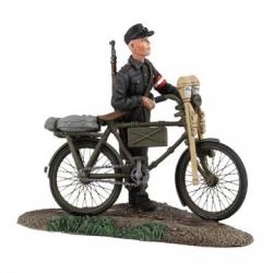 BR25036 German Hitler Youth Pushing Bicycle #1