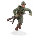 BR25045 US 101st Airborne Running with M-1 Garand