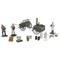 BR23101 German 1908 Hf11 Limber, Field Kitchen, Figures & Accessories