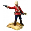 BR20190 Pre Order Getting a Little Close 24th Foot Officer Firing Pistol Ltd Ed