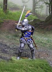 CS001018 - English Knight Sword Wielder