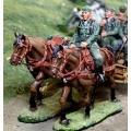 CS00872 German WWII Limber Horse Set (Heer)