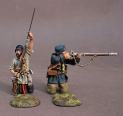 MF-09B Two French Militia Montreal Brigade