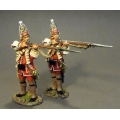 QBLG07 Louisbourg Grenadiers, 40th Regiment of Foot (2 figures)