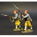 CSHZ-07 Two Infantry Advancing, South Carolina Zouave Volunteers