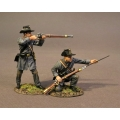 CSPR-05 Two Infantry Skirmishing, 4th South Carolina Infantry, Co B Palmetto Riflemen