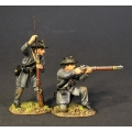 CSPR-06 Two Infantry Skirmishing, 4th South Carolina Infantry, Co B Palmetto Riflemen