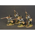 CSPR-06N 4 Infantry Skirmishing, 4th South Carolina Infantry, Co B Palmetto Riflemen