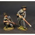 CSPR-08 Two Infantry Skirmishing, 4th South Carolina Infantry, Co B Palmetto Riflemen