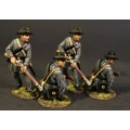 CSPR-08N Four Infantry Skirmishing, 4th South Carolina Infantry, Co B Palmetto Riflemen